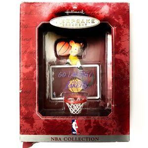 Hallmark 1998 NBA LA Lakers Keepsake Ornament